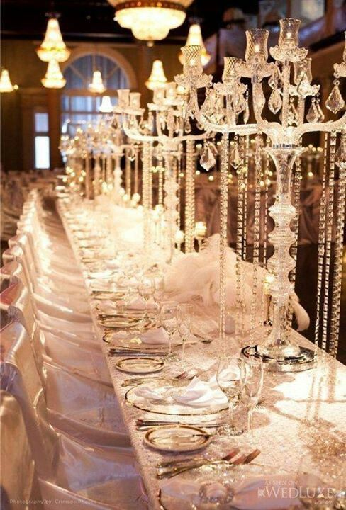 Over The Top Wedding Tables