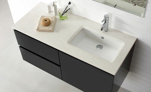 Bathroom vanity tops with offset sink