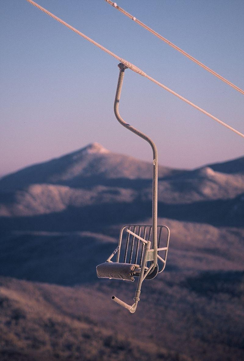 Mad River Glen Ahh The Single Chair Lift Mad River Ski Resort Resort