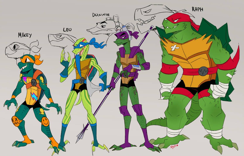 țestoase ninja mutante adolescente penis