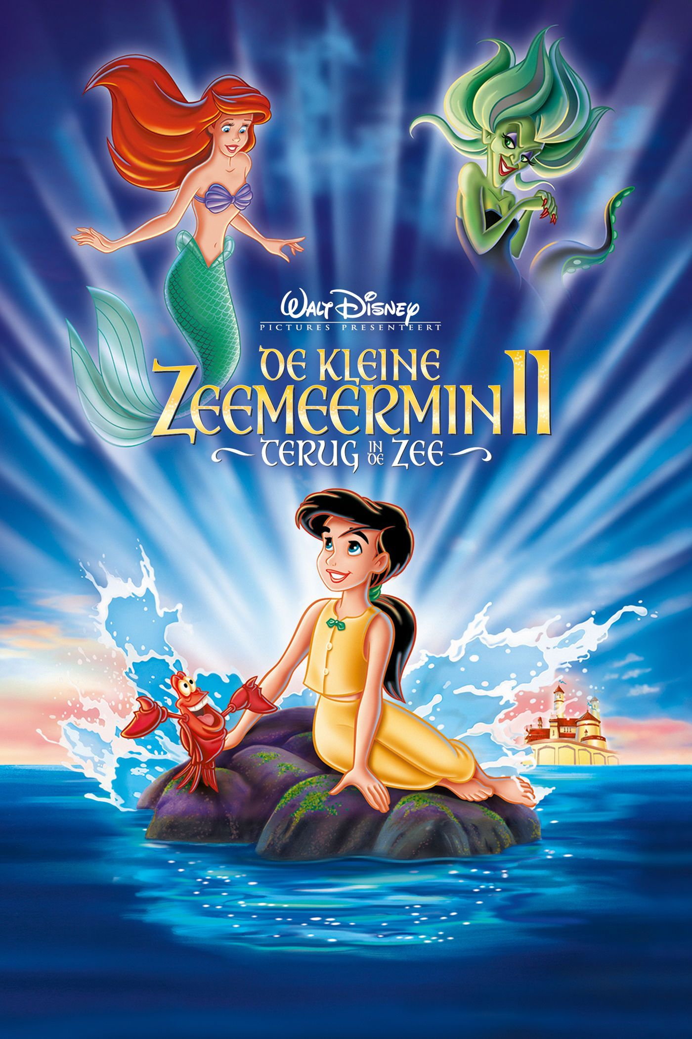De Kleine Zeemeermin 2 Terug In De Zee Com Imagens Filmes