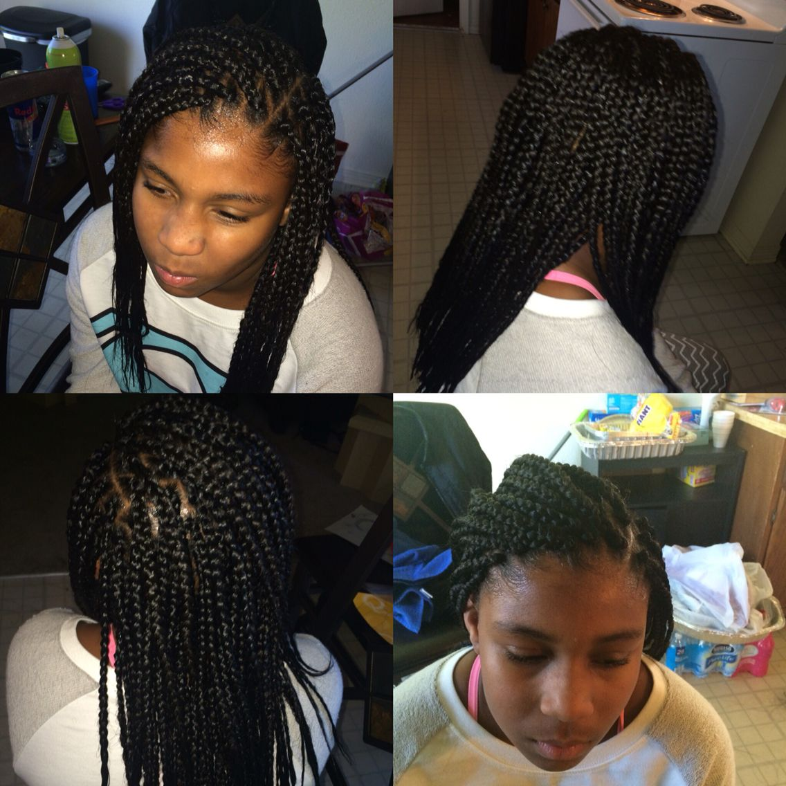 Kids boxbraids braids pinterest