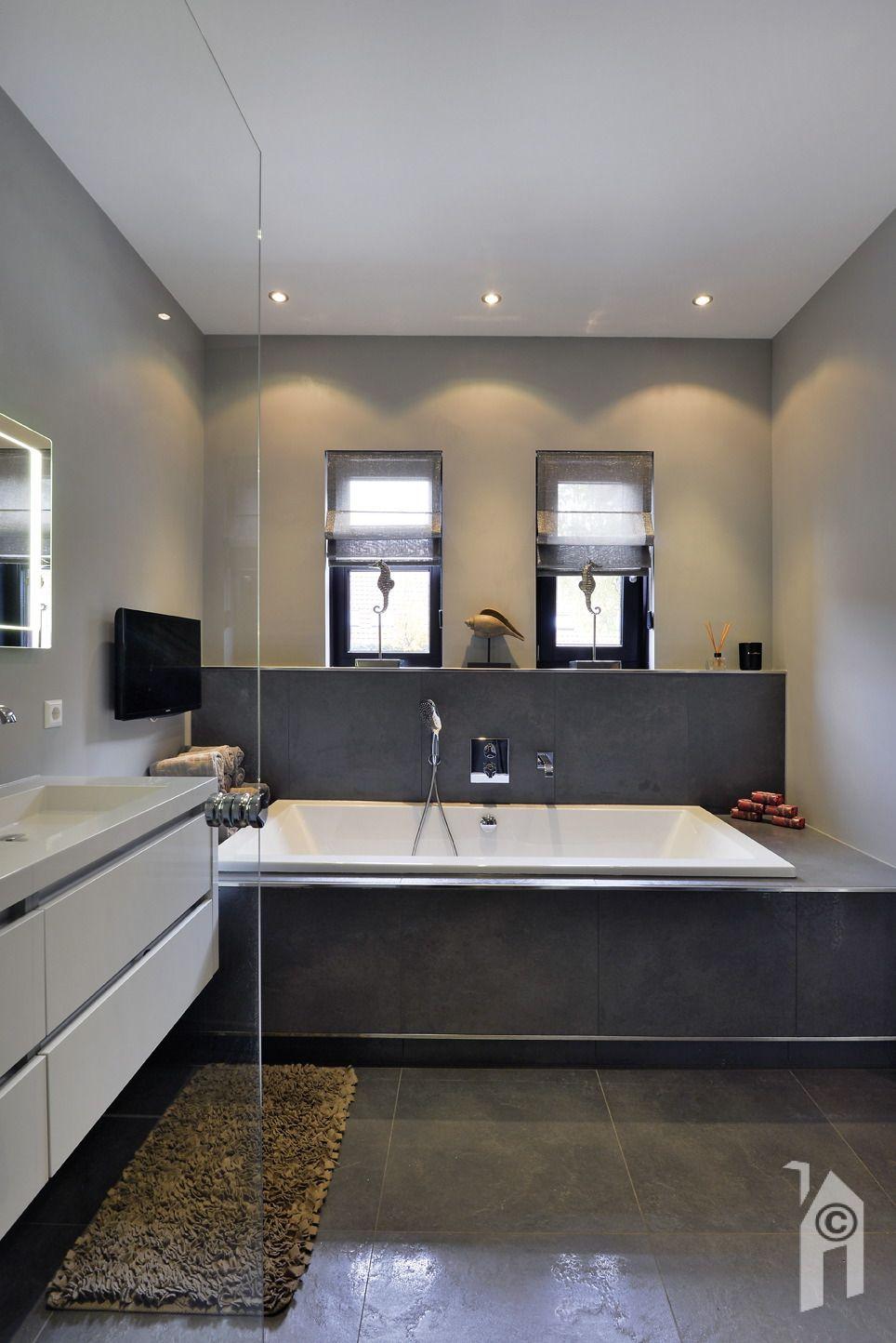 Mooie badkamer | WnS, landhuis | Pinterest