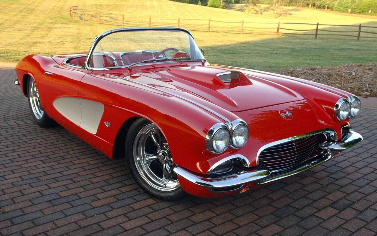 Classic American Muscle Car Wallpapers | Car wallpapers, Corvette ...