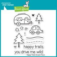Lawn Fawn Clear Stamp - Happy Trails