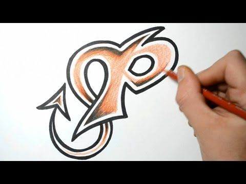 how to write graffiti letters p