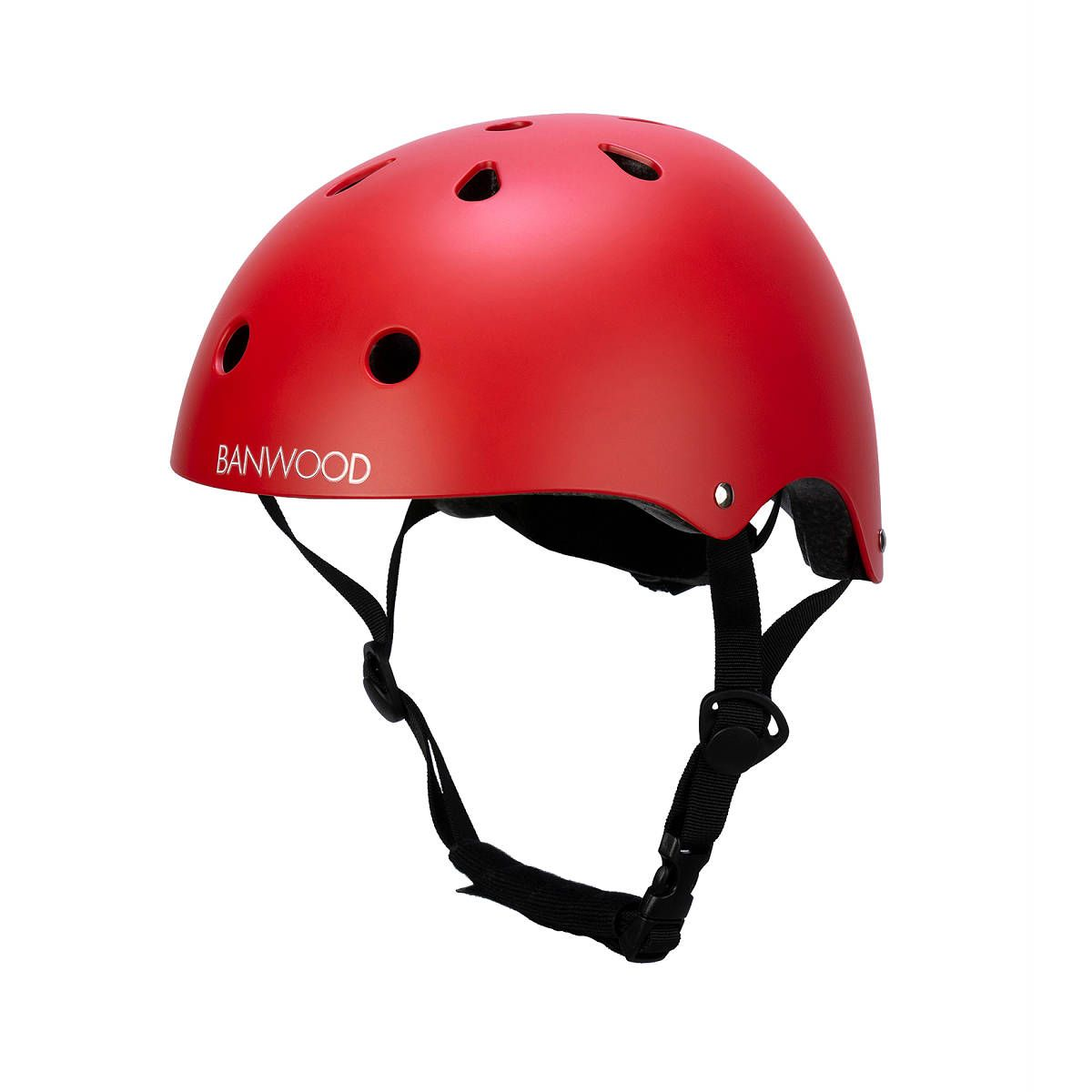 Kids Youth Protective Helmet For Outdoor Bicycle Bike Cycling Skiing Skate Red