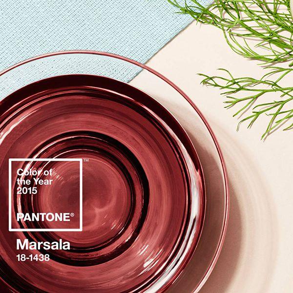 Marsala – A cor de 2015 da Pantone