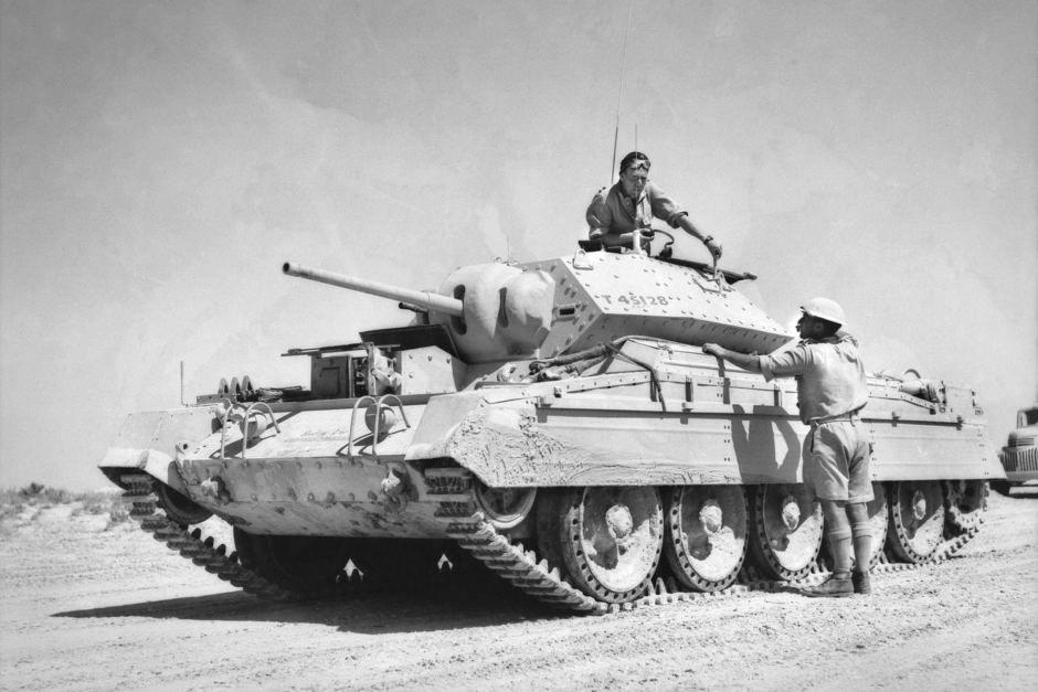 фото танка крусейдер опытных отоларингологов