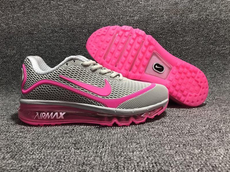319cae27cac449 New Nike Air Max 2017.5 KPU Gray Pink Women Sneakers