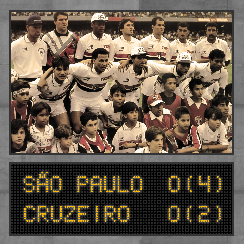 Campeão da Recopa Sul-Americana de 1993: Moraci Sant'Anna, Zetti, Ronaldão, Leonardo, Dinho, Cafu e Toninho Cerezo; Doriva, Válber Palhinha, André Luiz e Müller