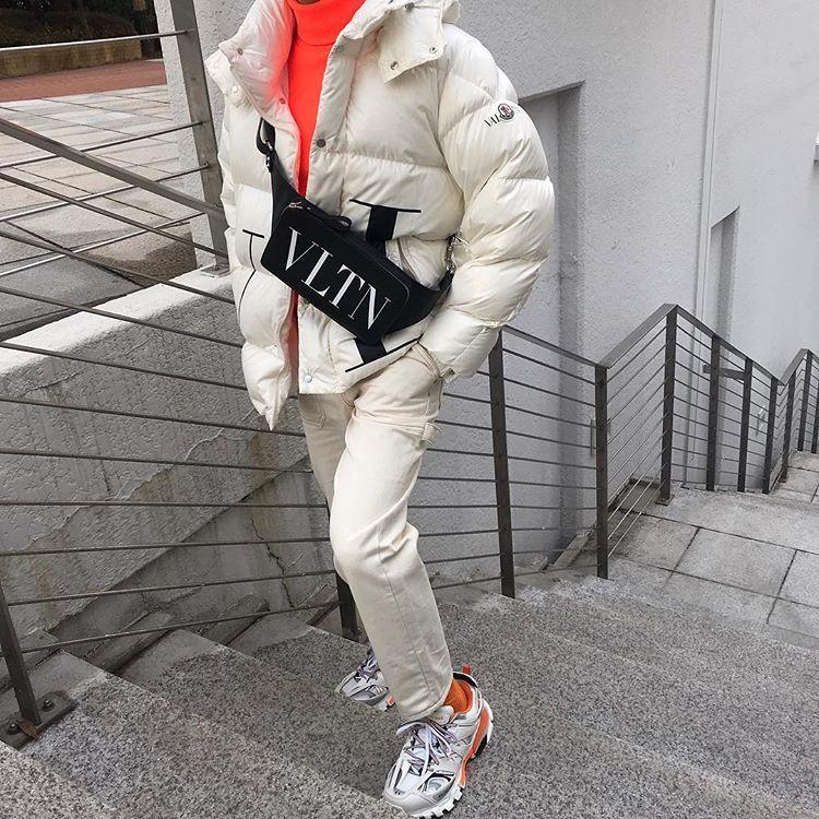 abd1688cd Valentino x Moncler 18fw white padded jacket . . . . .… | winter ...
