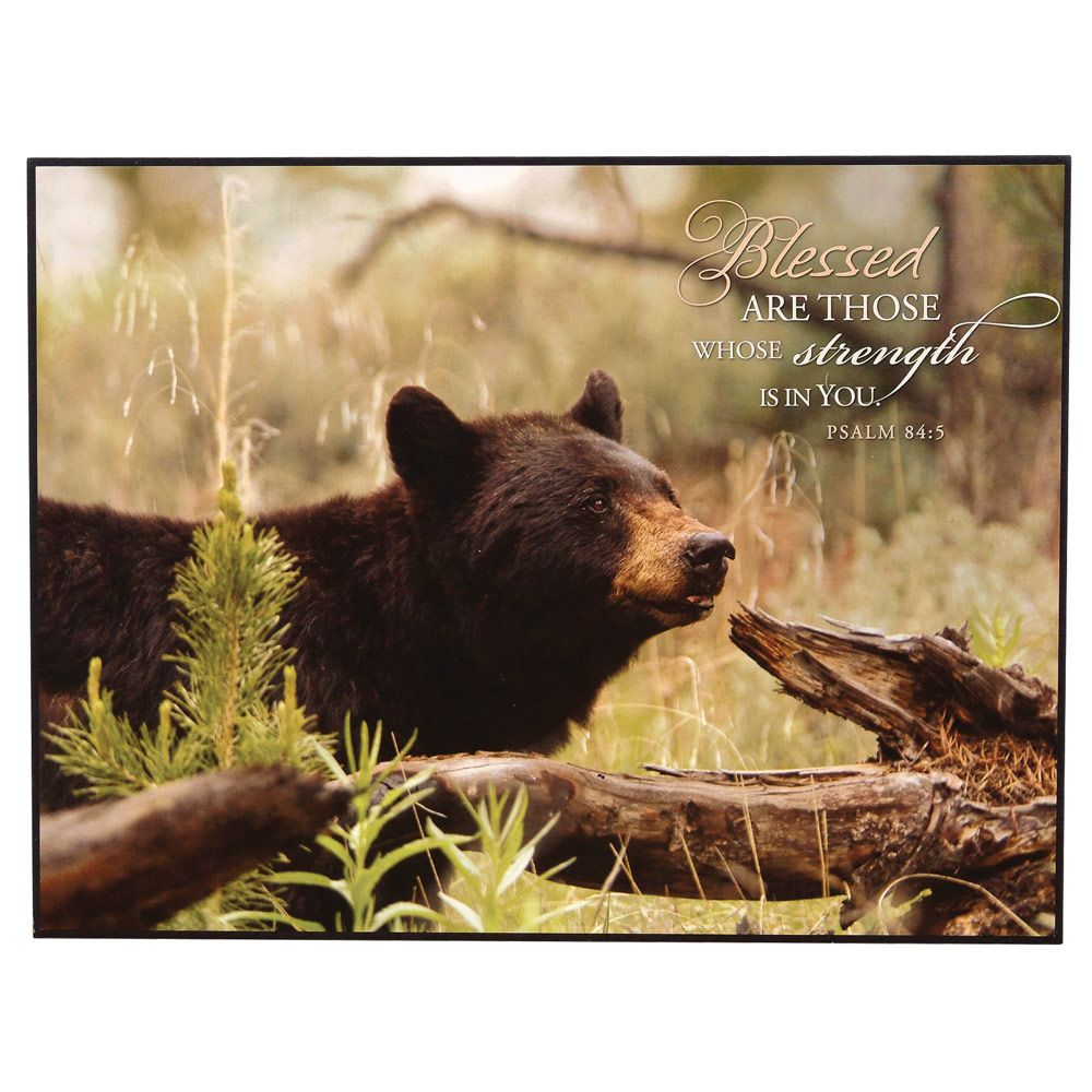 Black bear inspirational art life is better at the cabin