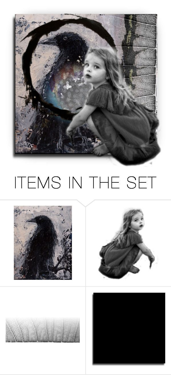 """""""nevermore"""" by kathy-martenson-sanko ❤ liked on Polyvore featuring art"""