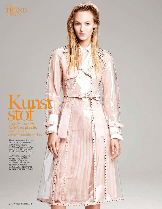 VOGUE NETHERLANDS- Theres Alexandersson in Vogue Trend Update by Johan ...