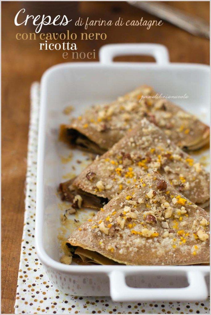 Ricette crepes con farina di farro