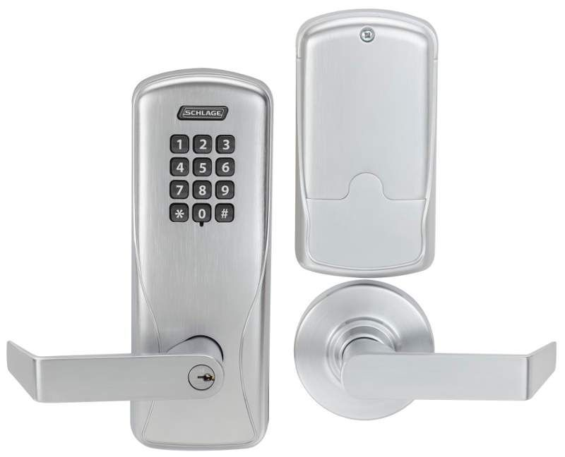 Schlage Co 100 Cy 70 Kp Rho Electronic Lock Mortise Lock Chrome