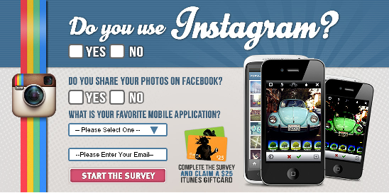 Free $25 iTunes Gift Card Instagram Survey | Free Gift Cards ...