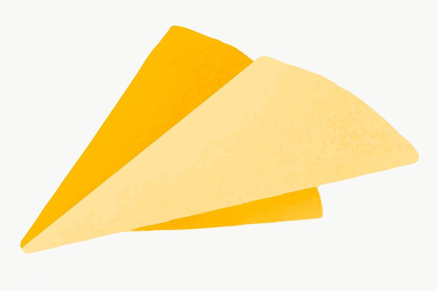 Yellow Origami Paper Plane Icon Transparent Png Premium Image By Rawpixel Com Aum Paper Plane Plane Icon Origami Paper Plane