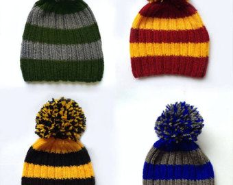 Headwear--Harry Potter Hufflepuff House Beanie