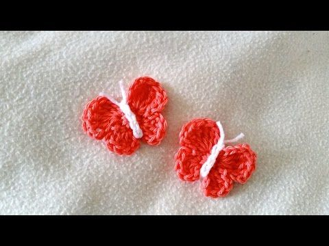 How to crochet a butterfly - Easy butterfly for beginners by ...