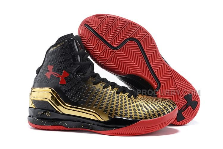 3ec1b5cd7a28 Discount Under Armour UA ClutchFit Drive Curry 2 Awards Season Gold Black  True Red