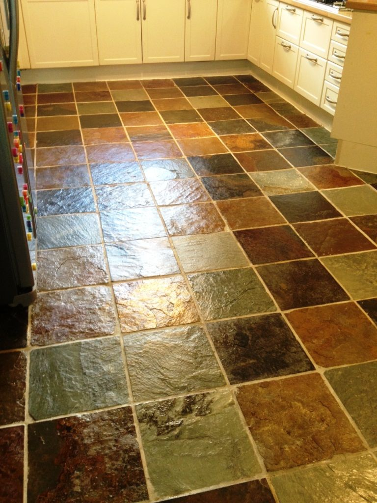 Cleaning Slate Tiles Before Sealing | Tile Design Ideas