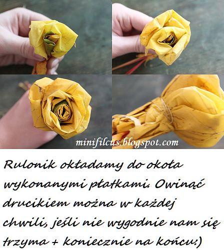 Znalezione Obrazy Dla Zapytania Kwiaty Z Lisci Debu Snack Recipes Snacks Chips