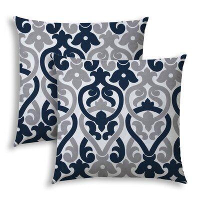 Winston Porter Stoudt Indoor Outdoor Throw Pillow Outdoor Throw Pillows Throw Pillows Pillows