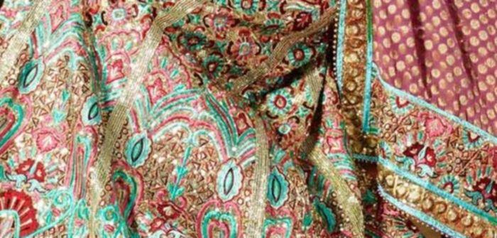 Saris hindues weding.