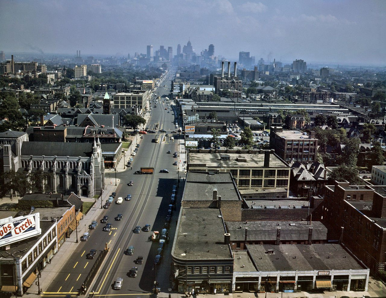 Detroit 1940 Best I can tell from current google maps, this was ...