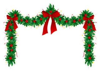 Christmas Garland Clip Art Free Download Clip Art Christmas