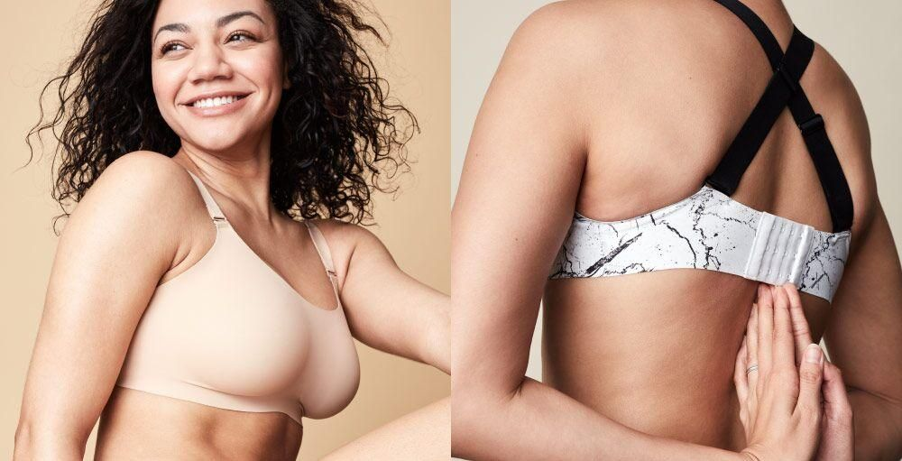 a84763a1f1922 Our wireless   seamless bras are comfortable and fit all shapes.  Reversible