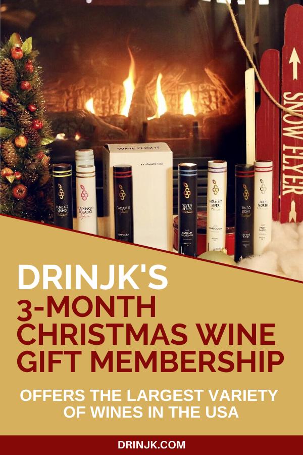 Drinjk Wines 3Month Christmas Wine Gift Membership Wine
