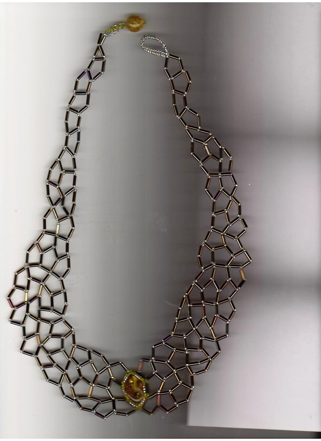 Колье из стекляруса схема фото 301