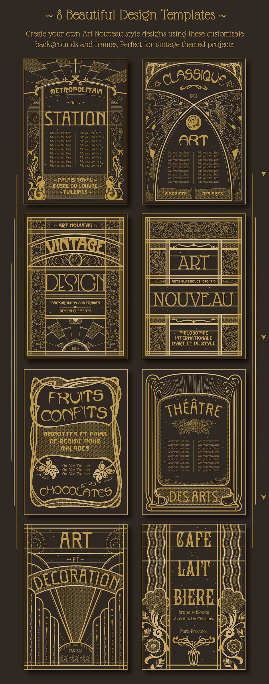 Art nouveau backgrounds how to and diy pinterest art nouveau backgrounds voltagebd Images