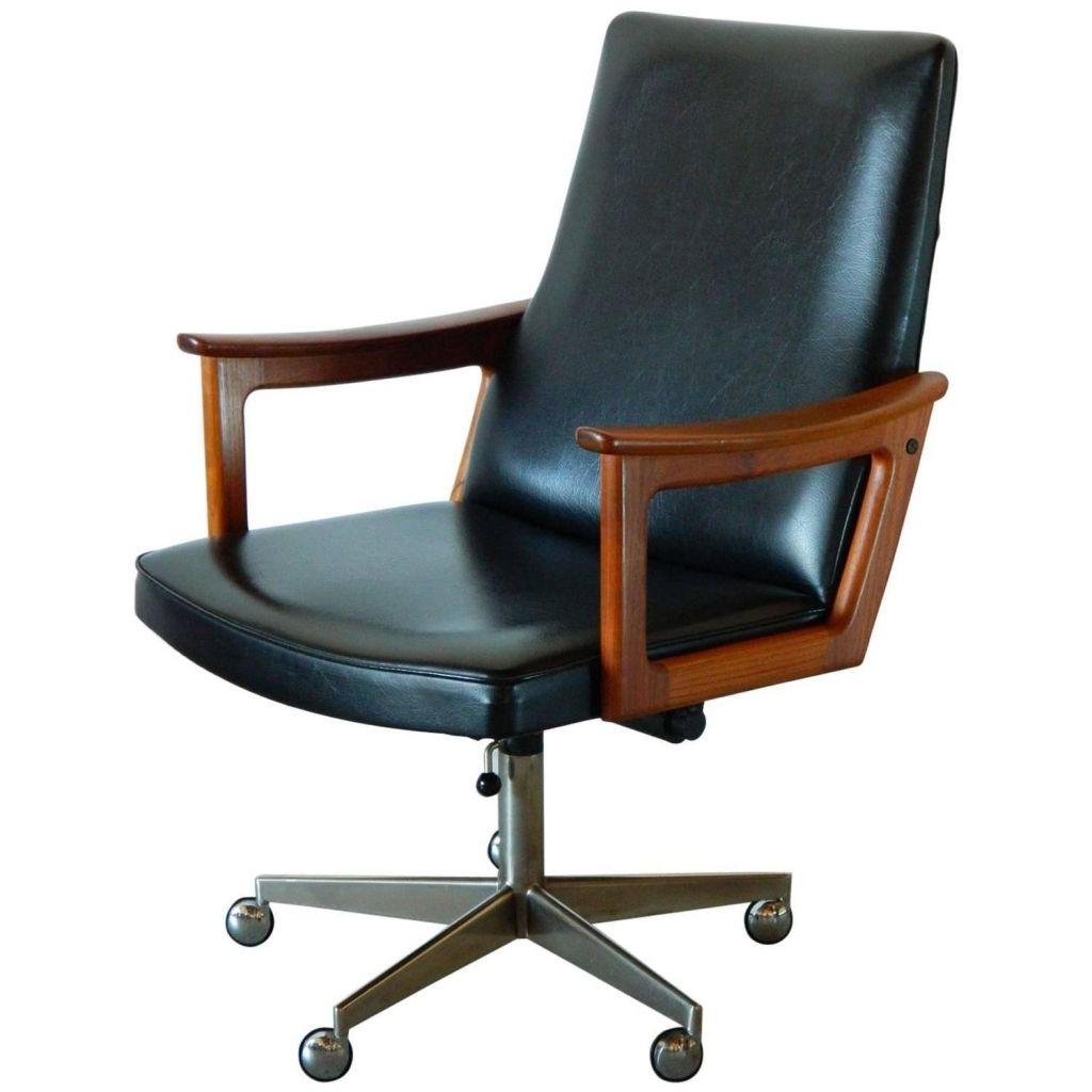 Danish teak desk chair devintavern pinterest teak
