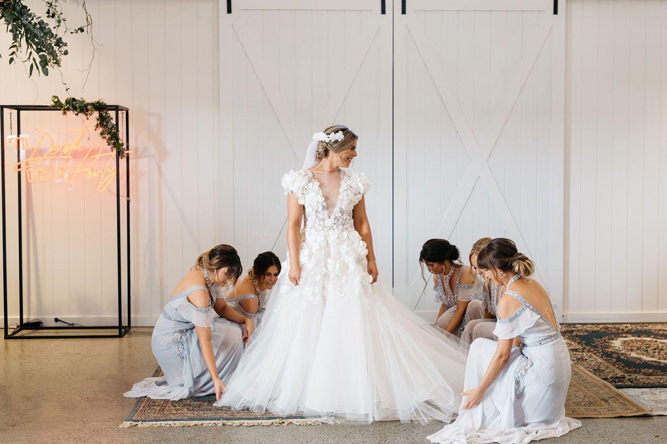 917af69f5da ... Baby Blues - Green Wedding Shoes. Rustic Modern Australian Wedding