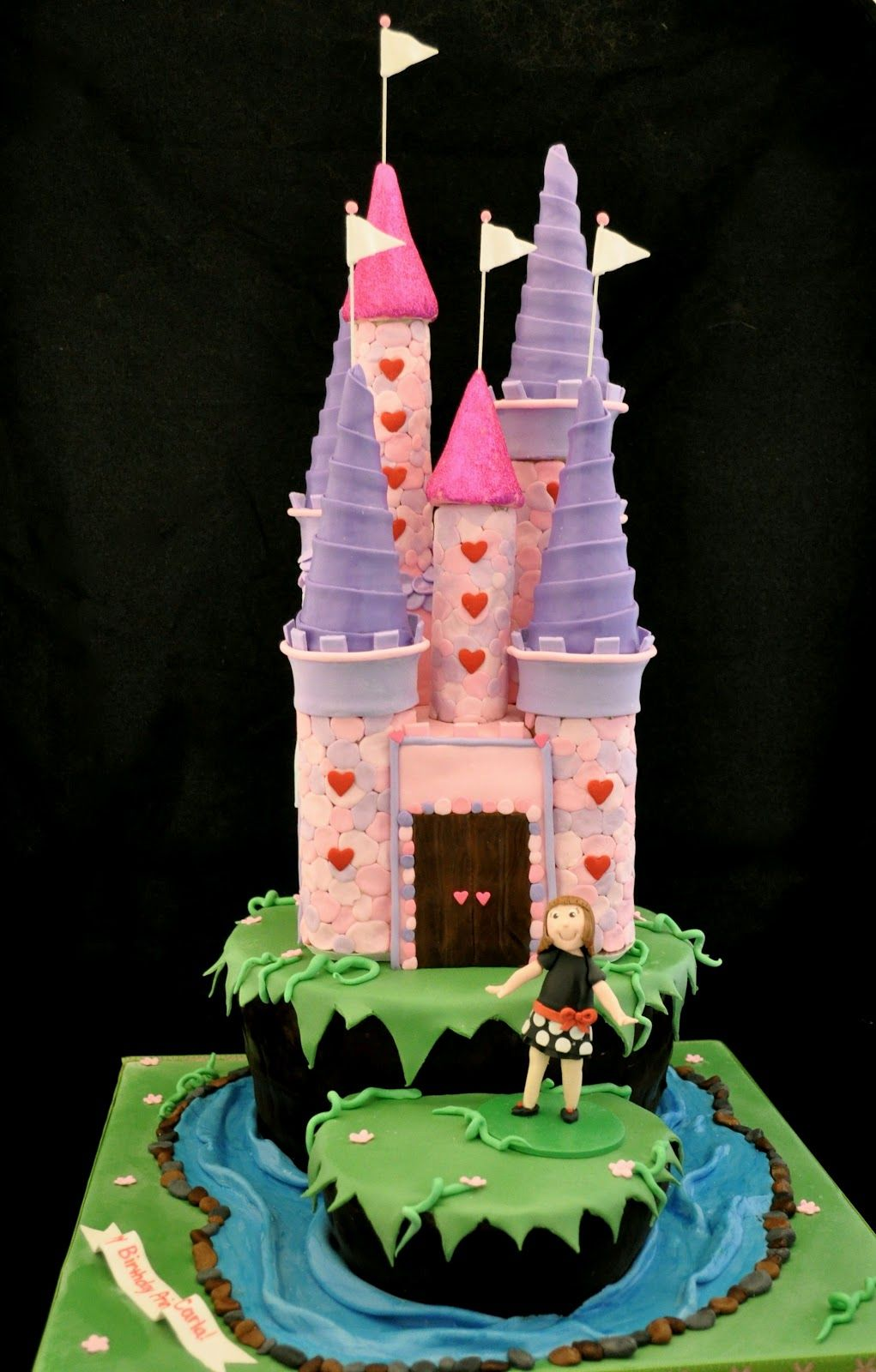 Castle Cake How-To