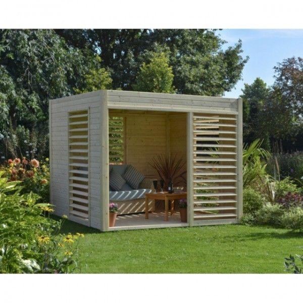 Abri De Jardin De Design Convivial Et Esthetique En 26 Idees Contemporary Garden Rooms Wooden Gazebo Garden Pavillion