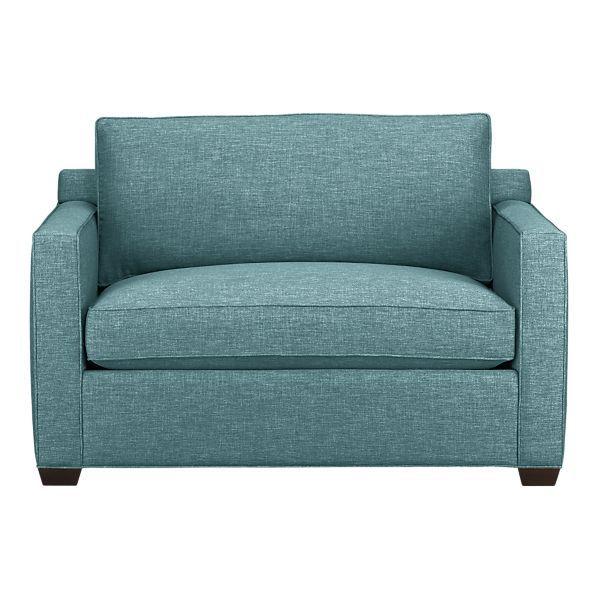 Captivating Davis Twin Sleeper Sofa In Sleeper Sofas | Crate And Barrel