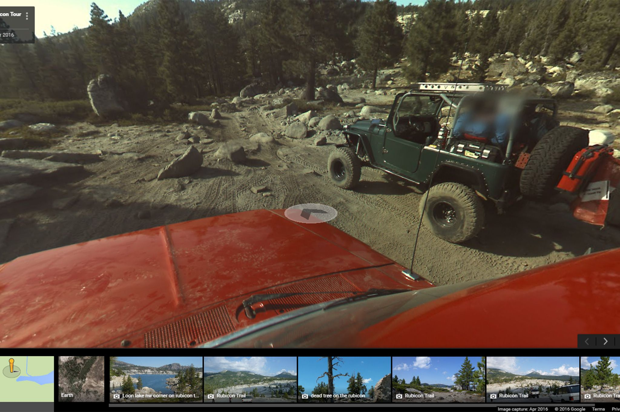 Google Street View Adds the Wild and Rocky Rubicon Trail ... on google street address location, google 360 street view, google earth live view, google home view, google street view program, google world street view, google earth 360 view, google street view in europe, google earth ukiah ca, google street view in the united states, google earth house view, google earth real time view, google mapquest street view, google earth zoom in, google earth live satellite maps, google street view enter address, google street view in africa, google earth view maps, google earth united states,