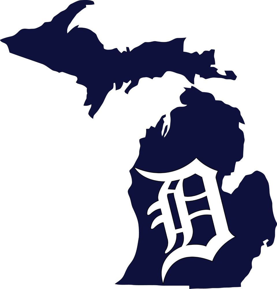 Detroit Tigers Old English \