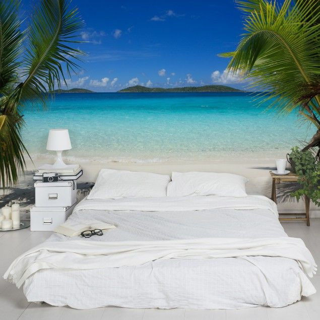3d fototapete meer perfect maledives vliestapete breit meer k ste strand sommer. Black Bedroom Furniture Sets. Home Design Ideas
