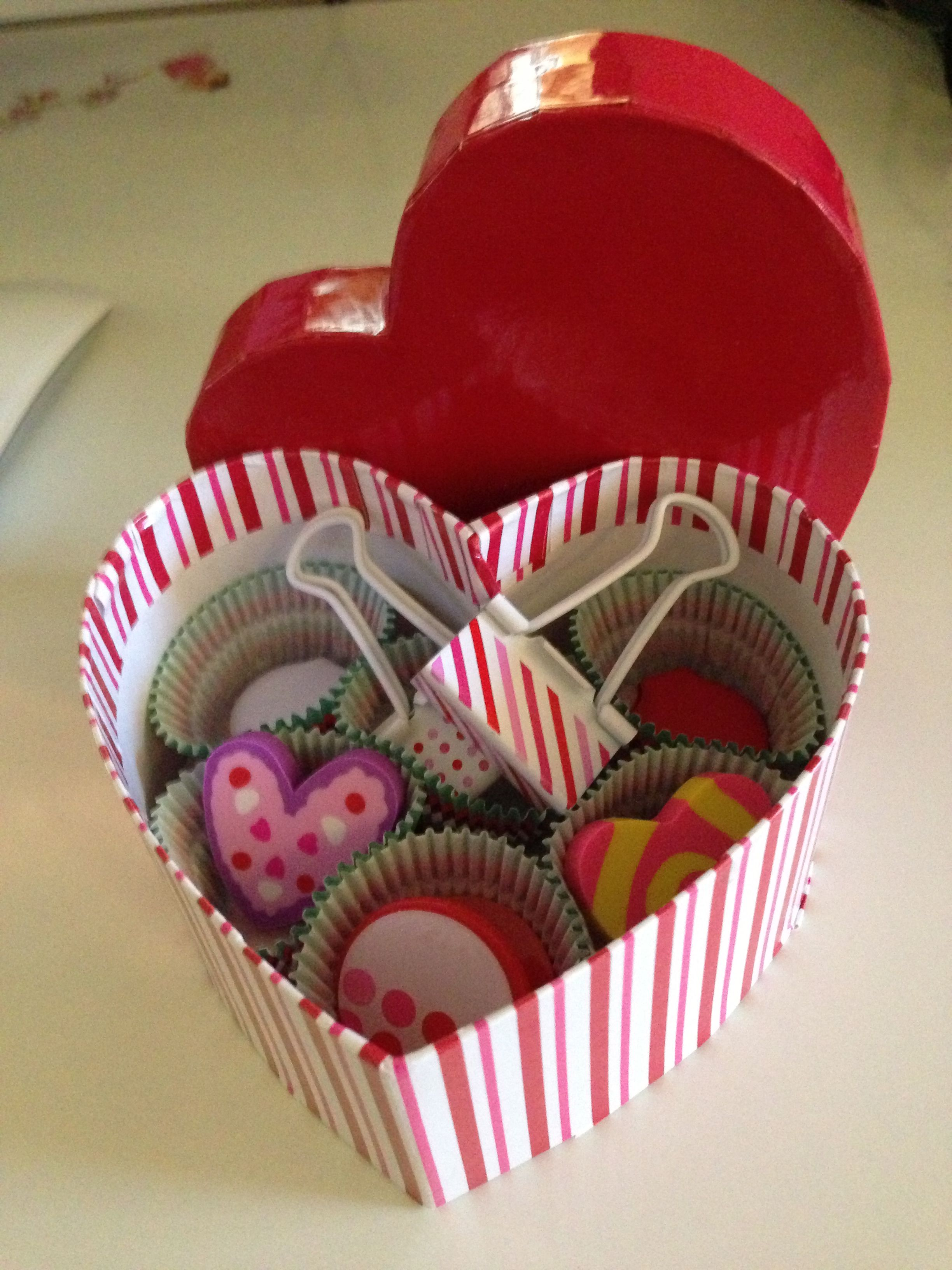 office valentine gifts. Valentine Gift For Teacher Or Classmates- Magnets, Clips, Erasers, Office Supplies Gifts