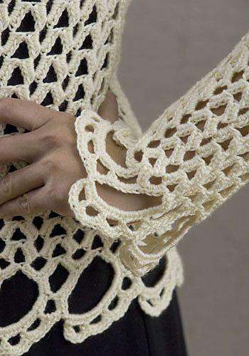 Ravelry: Avalon Top pattern by Doris Chan | kinder klere | Pinterest