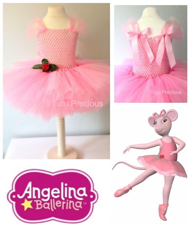 Angelina Ballerina Inspired Tutu Dress Dressing Up Costume In 2018 Jolie Clothing Rhey Tulle Skirt