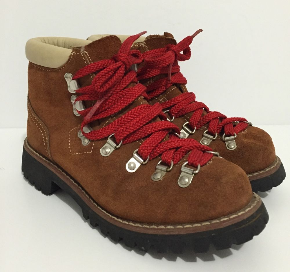 Vintage Scats by Gallenkamp Hiking Mountaineering Leather Boots ...