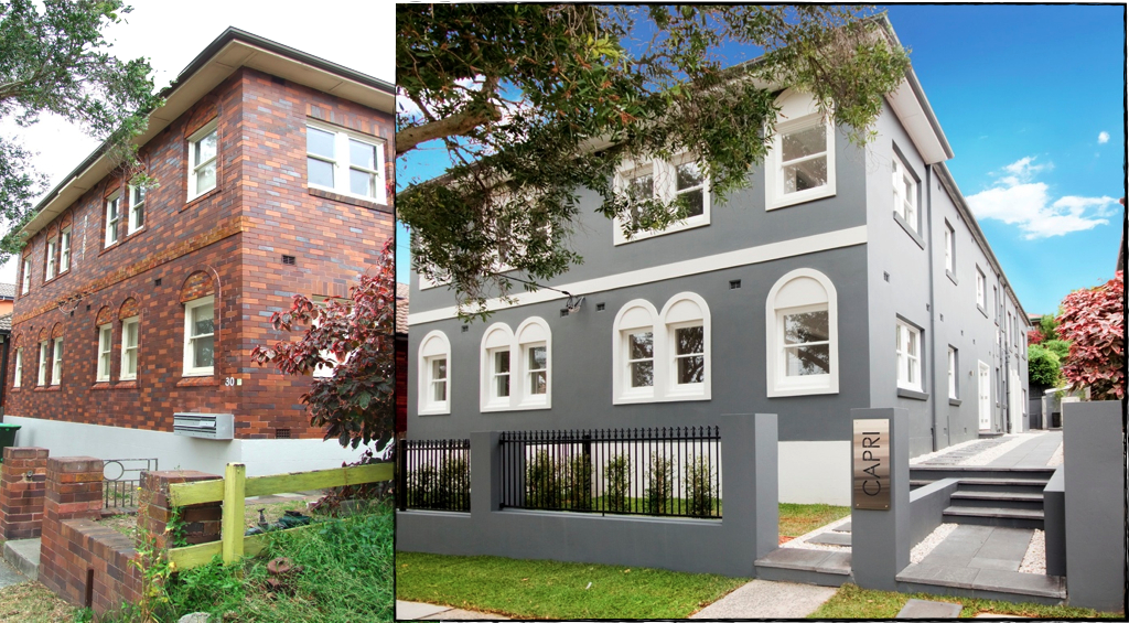 Rendering Before And After The After Is So Much Better Exterior House Renovation Exterior Remodel House Exterior Before And After