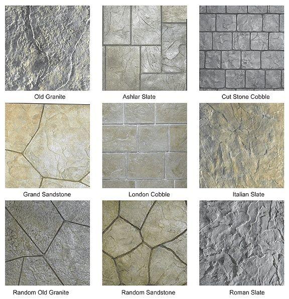 Art Stamped Concrete Pattens. Patio-ideas